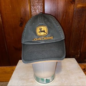 Vintage John Deere authentic adjustable hat